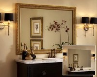 Framed Bathroom Mirror Home Design Ideas, Pictures ...