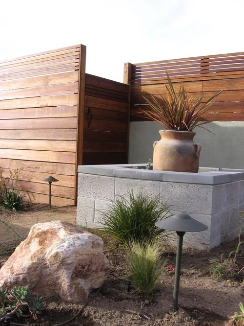 redwood fence home design ideas