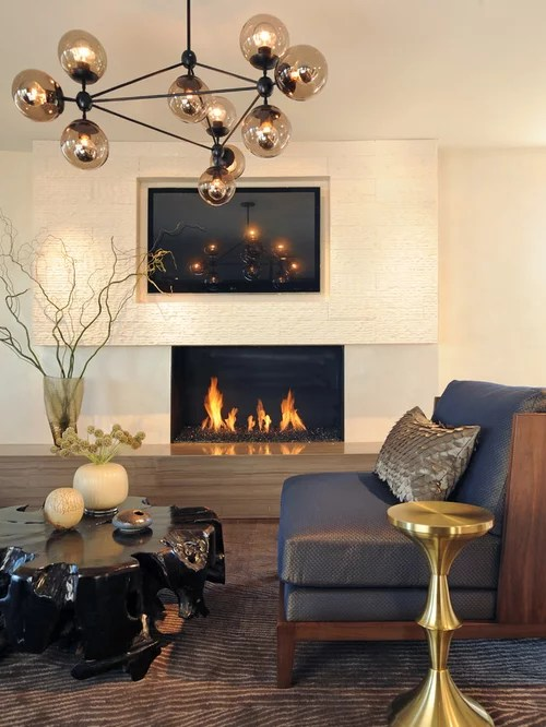 Tv Above Fireplace Home Design Ideas Pictures Remodel and Decor