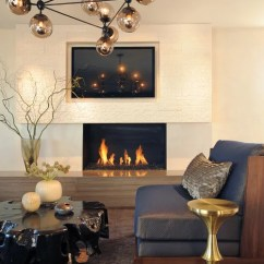 Simple Living Room Ideas Pictures For Home Decoration Tv Above Fireplace Design Ideas, Pictures, Remodel ...