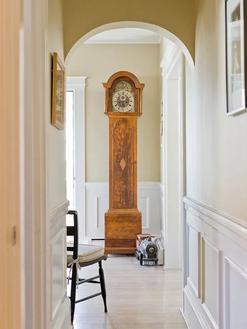 woodwork design for living room color designs modern grandfather clock   houzz