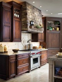 Stone Vent Hood Home Design Ideas, Pictures, Remodel and Decor