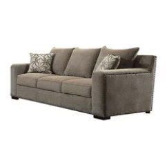 8 Way Hand Tied Sofa Brands In Canada Greek Style 50 Most Popular Sofas Couches For 2019 Houzz Features Clear All Benzara Woodland Imprts The Urban Port Vogue Gray Chenille With 2 Pillows