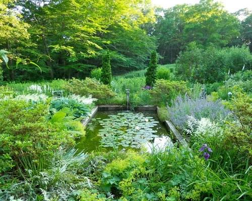 White Garden Houzz