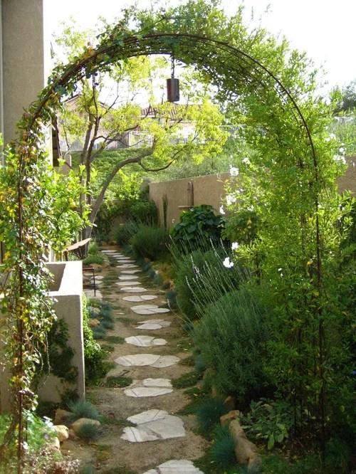 narrow side yard home design ideas