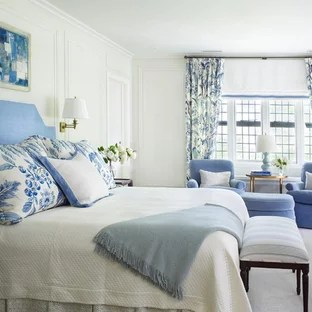 french blue bedroom ideas