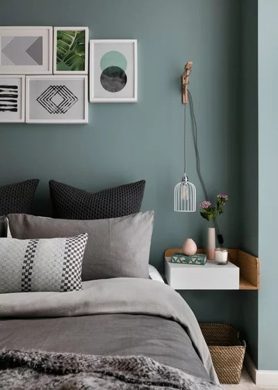 Scandinavian Bedroom by Shanade McAllister-Fisher