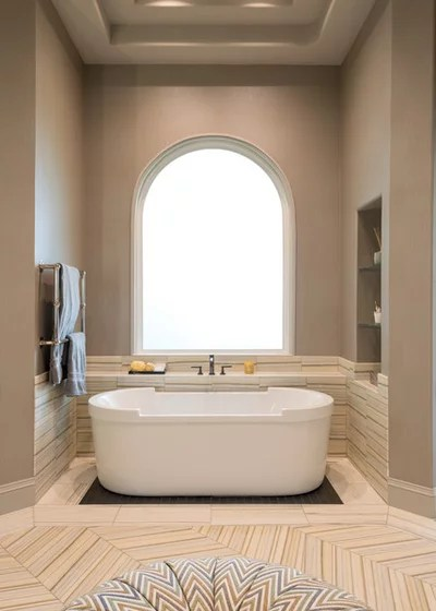 Transitional Bathroom by Kasper Custom Remodeling, LLC