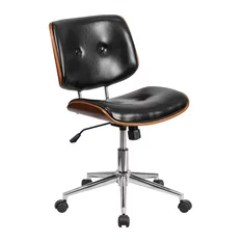Contemporary Office Chairs Sherpa Dish Chair 50 Most Popular For 2019 Houzz Flash Furniture Mid Back Black Leather Wood Swivel Task