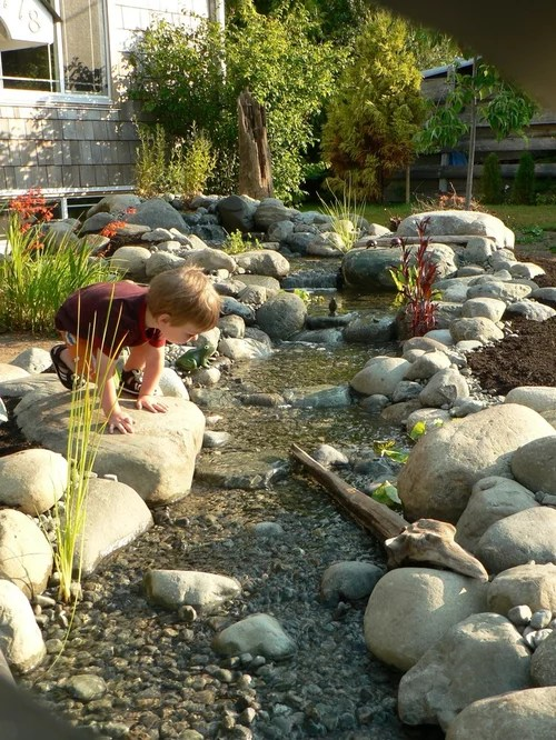 dry creek bed design home