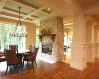 Two-Sided Fireplace Home Design Ideas, Pictures, Remodel ...