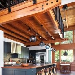 Blue Kitchen Countertops Designer Online Loft   Houzz