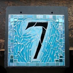 Beach Style House Numbers Houzz