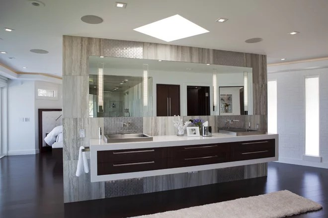 Contemporary Bathroom by Shane D. Inman