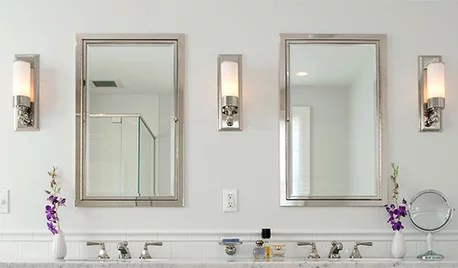what size vanity light in bathroom