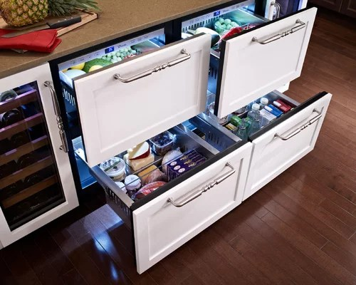Best Pull Out Refrigerator Drawers Design Ideas Amp Remodel Pictures Houzz