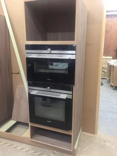 recommended height of built in ovens