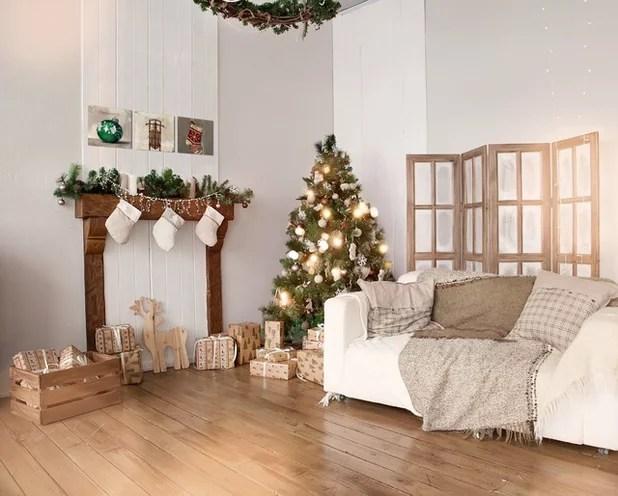 11 Idee Decorative per un Natale in Perfetto Stile Shabby Chic