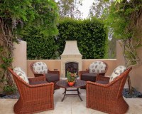 Small Outdoor Fireplace Home Design Ideas, Pictures ...
