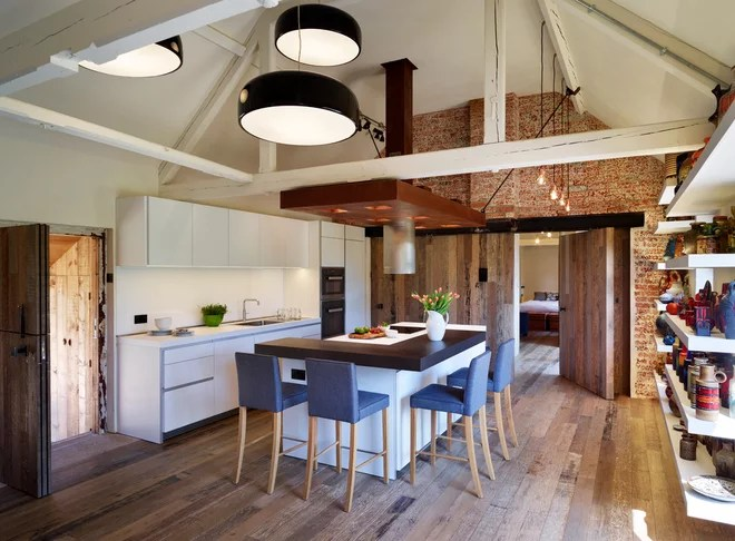 Industrial Kitchen by Hobsons Choice