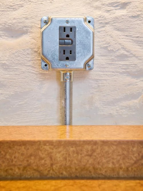 Exposed Electrical  Houzz