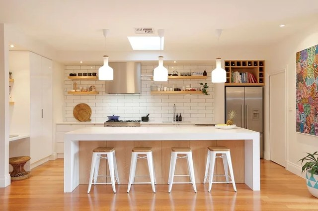 Scandinavian Kitchen by Bask Interiors