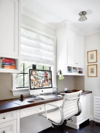 Home Office Built-In Desk Home Design Ideas, Pictures ...
