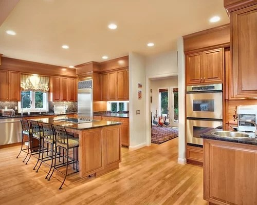 Light Cherry Cabinets Ideas Pictures Remodel And Decor