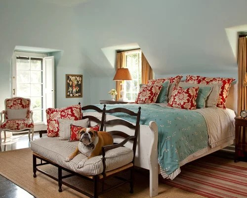 Blue And Red Bedroom Photos
