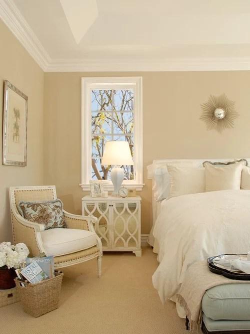 Burlap Bedroom Houzz