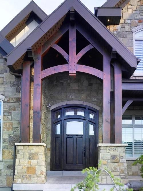 Timber Frame Entry Houzz