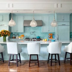 Colorful Kitchen Cabinets Wood A Baker S Dozen Colors For