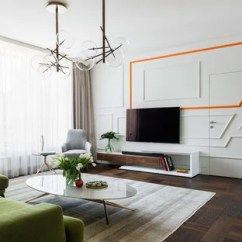 Modern Living Room With Dark Wood Floors Pendant Height 75 Most Popular Contemporary Floor Design Large Brown And Idea In Moscow