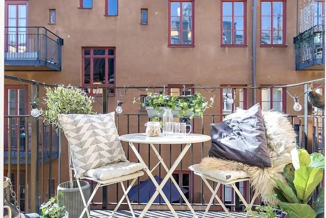 Scandinavian Balcony by Stylescale