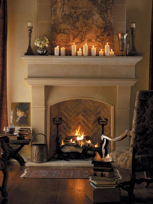 living room mantel decor coastal and kitchen cast stone fireplace home design ideas, pictures, remodel ...