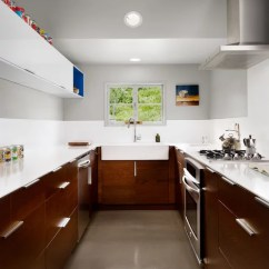 Touch On Kitchen Faucet Remodelling Best Brown And White Design Ideas & Remodel ...