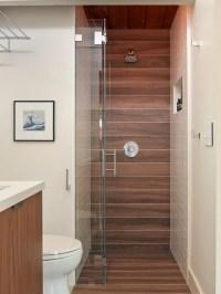 Wood Tile Shower | Houzz