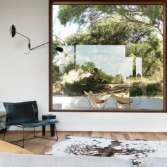 Living Room Windows Ideas With Light Hardwood Floors 3 Photos Houzz Mid Sized Contemporary Open Concept Wood Floor Idea In