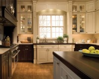 Mixed Wood Cabinets Home Design Ideas, Pictures, Remodel