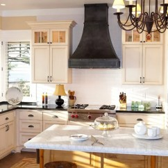 Copper Kitchen Countertops Birch Cabinets Black Vent Hood Ideas, Pictures, Remodel And Decor