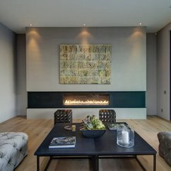 Living Room Mounted Tv Ideas Furniture Layout For Rectangular With Corner Fireplace Linear | Houzz