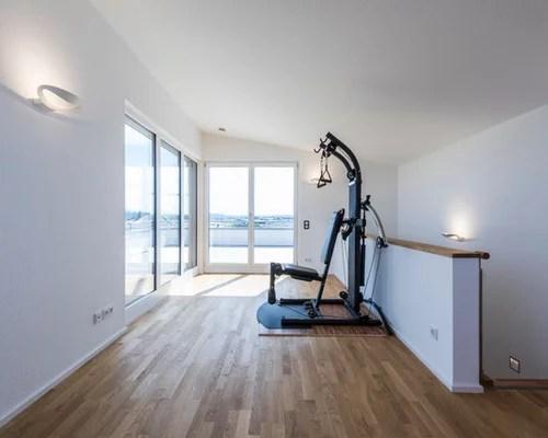 Fitnessrume einrichten  HomeGym  HeimFitnessstudio  HOUZZ