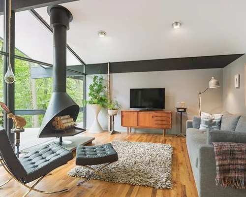 Freestanding Fireplace Home Design Ideas Pictures