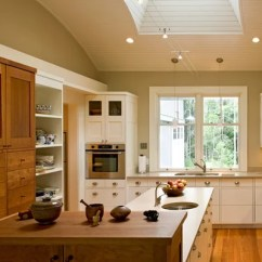 Kitchen Sink And Cabinet Combo Corner Hutch Mixed Wood Cabinets | Houzz