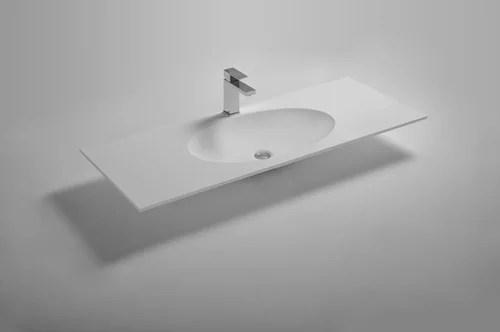 solid surface vs glass vs porcelain for