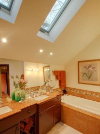 Sloped Bathroom Ceiling Home Design Ideas, Pictures ...