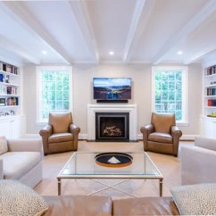 Transitional Living Room Furniture Best Colour For Indian 75 Most Popular Design Ideas 2019 Enclosed Medium Tone Wood Floor And Brown Photo In Dc Metro With