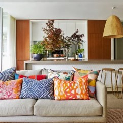 Cushions Living Room Gray Rooms With Brown Furniture Cushion Styling Masterclass How To Choose Arrange Houzz Contemporary The Art Apartment