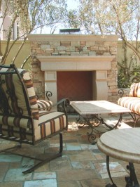 Outdoor Fireplace Mantel Ideas, Pictures, Remodel and Decor