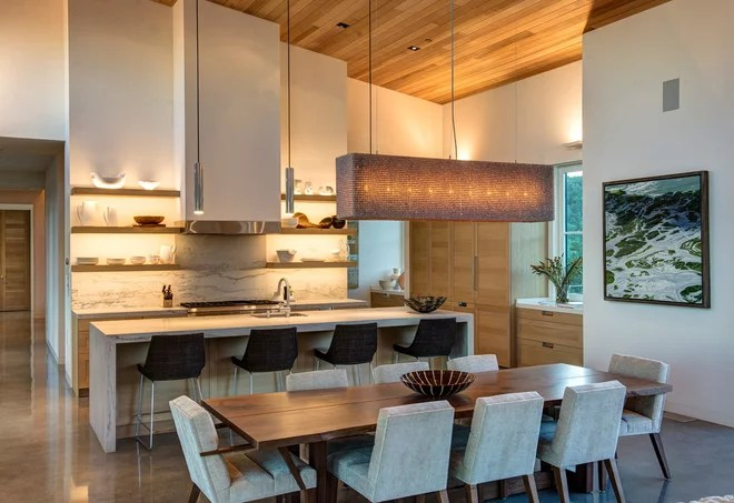 Contemporary Kitchen by Christine Curry Design